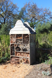 Insect Hotel in the historic gardens of Babylonstoren