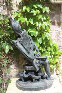 Garden sculpture .