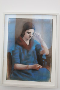 Picture of Olga. His first wife