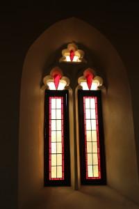 Windows in Knysna church