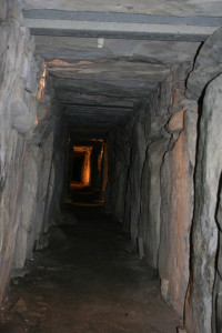The passage leading to the chambers.